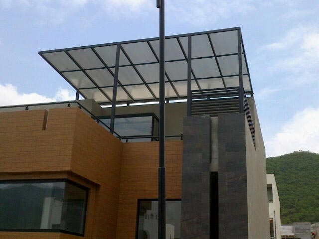 Deaalum domos de vidrio acr lico y policarbonato 81 for Techos de policarbonato para azoteas